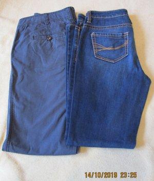 Tom Tailor Jeans boyfriend blu scuro Cotone