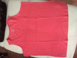 Basic Top pink-orange cotton