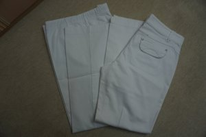 Apriori Stretch Jeans white cotton