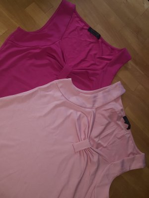 2 x Top T-Shirt Apanage Collection pink und rosa Gr. M    neu