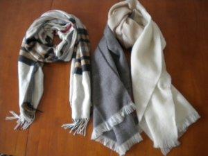 2 XL-Schals von Fraas und H&M