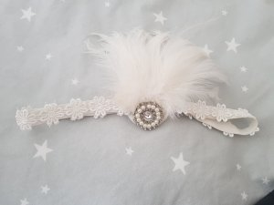 Tailleur bianco-argento