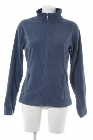 2117 of Sweden Fleece jack petrol casual uitstraling