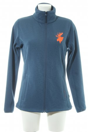 2117 of Sweden Softshelljack korenblauw casual uitstraling