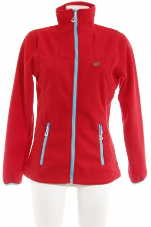 2117 of Sweden Softshelljacke rot-hellblau Casual-Look