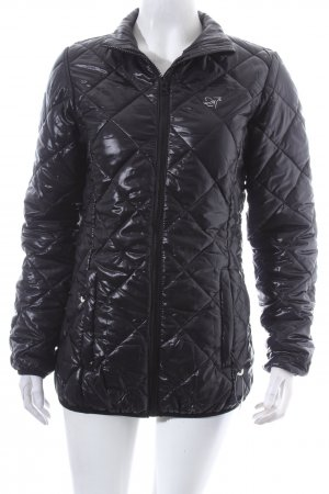 2117 of Sweden Quilted Jacket black quilting pattern athletic style