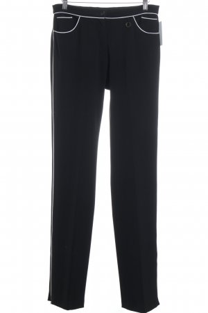 22 Maggio High Waist Trousers black-white casual look