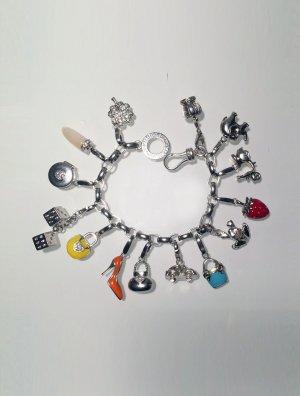 Giorgio Martello Charm Bracelet silver-colored real silver