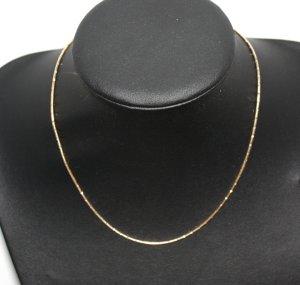 2382 Silberkette 925 vergoldet 43cm - sehr edel