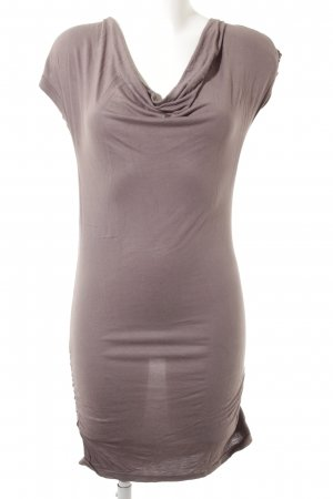 24 Hours Jersey Dress grey brown casual look