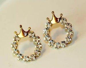 24 Karat vergoldete Ohrringe.... NEU! NP 150,-€