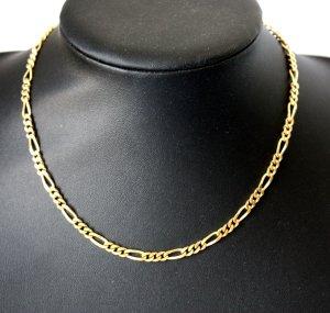 2437 Gold Doublé Kette 43cm