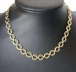 2438 Gold Doublé Kette Vintage 40cm