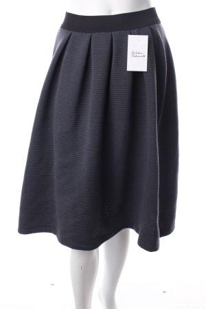 24Colours Glockenrock schwarz-dunkelgrün klassischer Stil