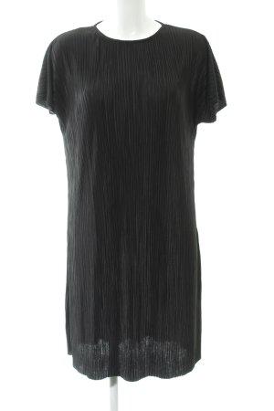 24Colours Shortsleeve Dress black street-fashion look