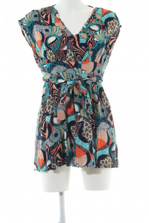 24Colours Mini Dress abstract pattern casual look