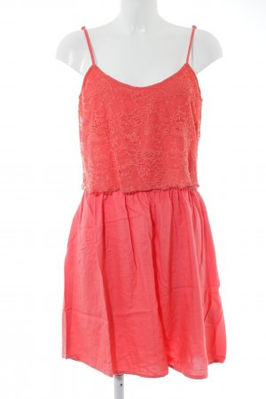 24Colours Minikleid lachs Beach-Look