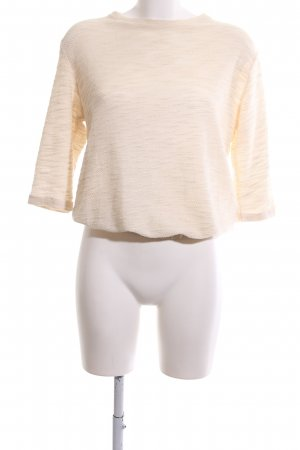 24Colours Crewneck Sweater cream flecked casual look