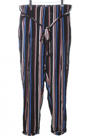 24Colours Stoffhose Streifenmuster Casual-Look