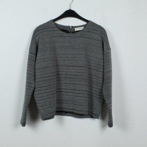 24Colours Sweatshirt Gr. 36 grau gestreift (19/09/038)