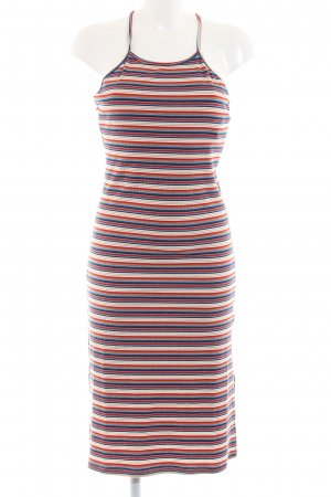 24Colours Pinafore dress striped pattern casual look