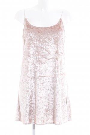24Colours Vestido tipo overol rosa empolvado elegante