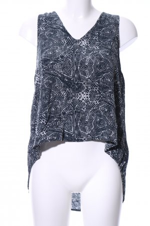 24Colours Strappy Top abstract pattern casual look
