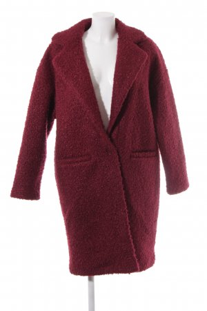 24Colours Between-Seasons-Coat dark red casual look
