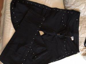26/32 Skinny Jeans im glanzlook