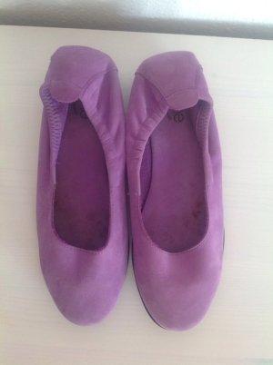 270€ Arche aus Frankreich Ballerinas Flieder Lila Lederschuhe Leder Pumps 37