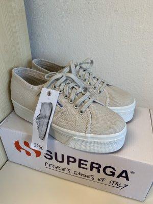 Superga Heel Sneakers mauve cotton
