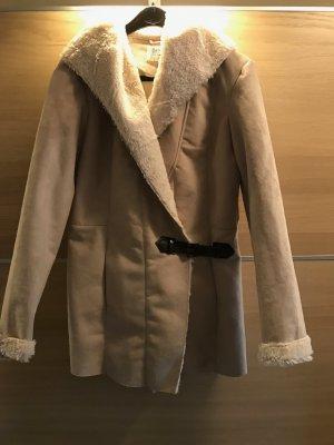 28.4.2017 endet der Verkauf!!! Jacke/Mantel beige Gr.36 kaum getragen