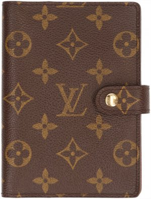 28896 Louis Vuitton Agenda Fonctionnel PM Monogram Canvas Schreibmappe