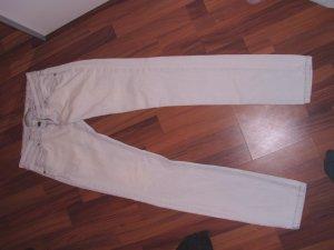 weiße jeans von zara 38