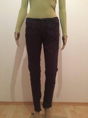 29/30 29 30 Gstar G-Star Denim Jeans Five Pocket colored skinny slim lila dunkel Hose cool Marke hochwertig musthave