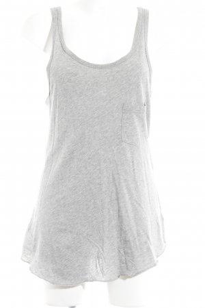 291 Venice Strappy Top light grey flecked casual look