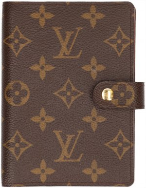 29942 Louis Vuitton Agenda Fonctionnel PM aus Monogram Canvas