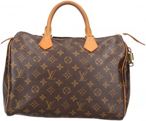 29950 Louis Vuitton Speedy 30 aus Monogram Canvas Tasche, Handtasche, Henkeltasche