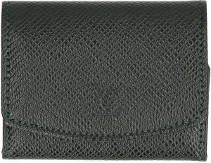 Louis Vuitton Mini sac vert foncé tissu mixte