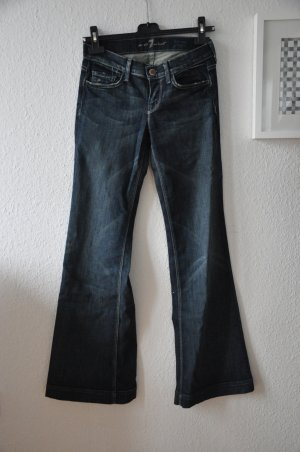 Neue Seven For All Mankind Wide Leg Jeans Gr 25