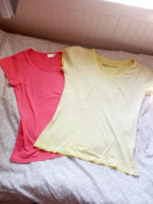 2er set basic Tshirts