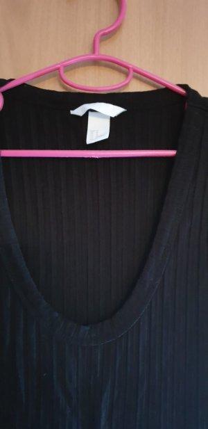 Camisa de rayas negro