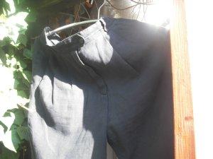 2Escada Hotpants, Bermuda, Shorts,Boyfriend100%Leinen+Neckholder, schwarz,gebr.