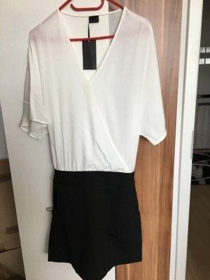 2in1 Kleid Abendkleid *Gr. 42* Schwarz Weiß *Laura Scott* NEU