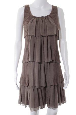 2love TONYCOHEN Pinafore dress light brown casual look