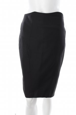 2nd Day Falda de tubo negro elegante