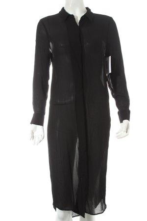 2nd Day Blusenkleid schwarz minimalistischer Stil