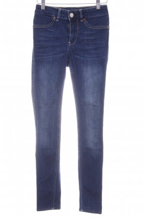 2nd Day Skinny Jeans dunkelblau Casual-Look