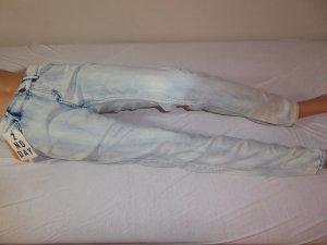 2nd Day Vaquero azul claro tejido mezclado