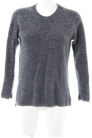 2nd Day Maglione lavorato a maglia grigio scuro-blu scuro puntinato stile casual